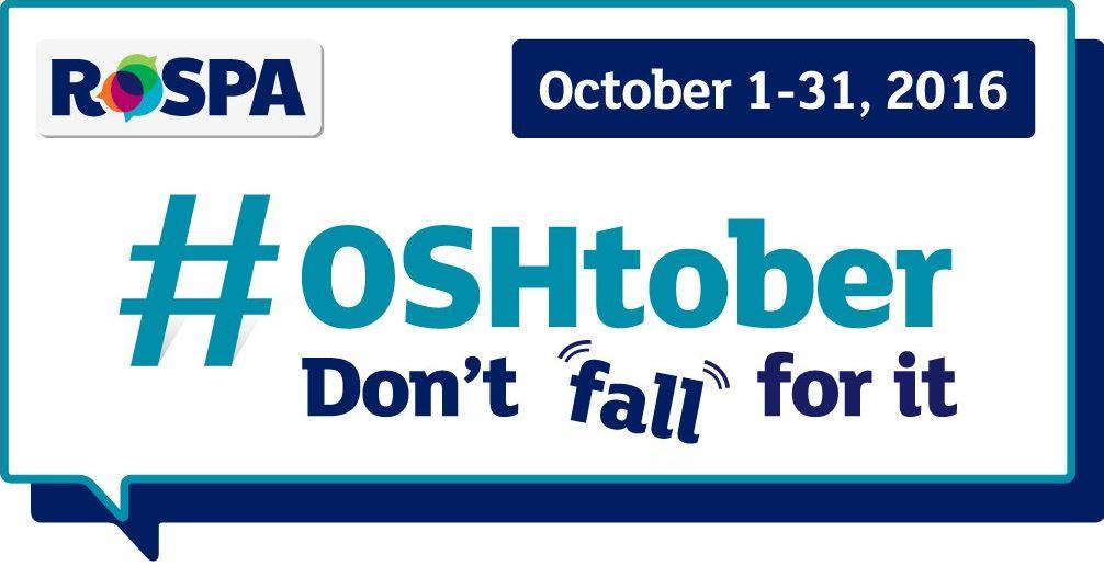 RoSPA's OSHtober campaign logo