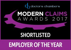 Modern Claims Awards 2017 - Employer of the Year