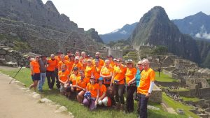 Inca Trek for CAFT - group
