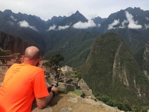 Personal Injury Solicitor Michael Mawdsley at Machu Picchu